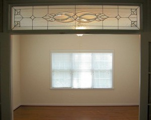 Traditional Chappell transom