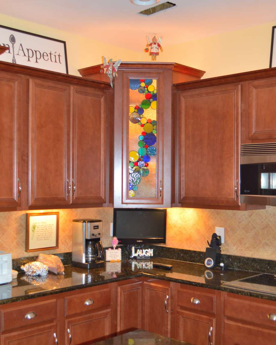 Stained Glass For Kitchen Cabinets: Custom Stained Glass & Custom