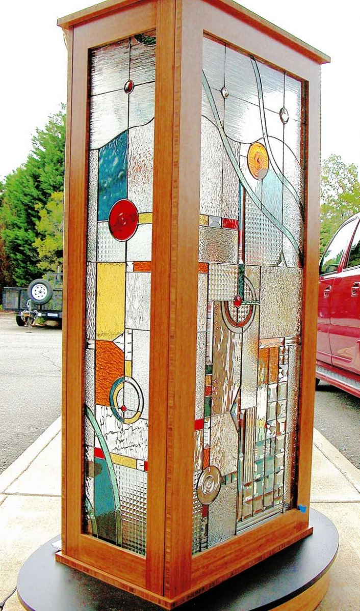 Decorative glass solutions custom stained glass custom for Window dividers
