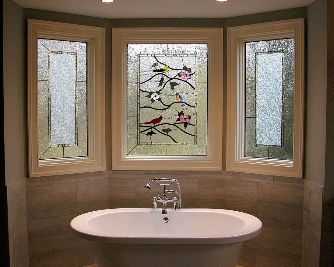 Bathroom window privacy film home depot bathroom window for Decorative windows for bathrooms