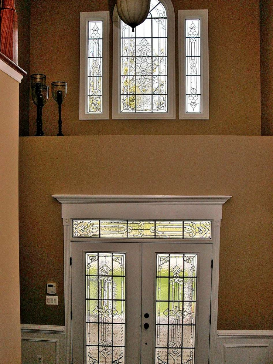 Foyer Window : Decorative glass solutions custom stained