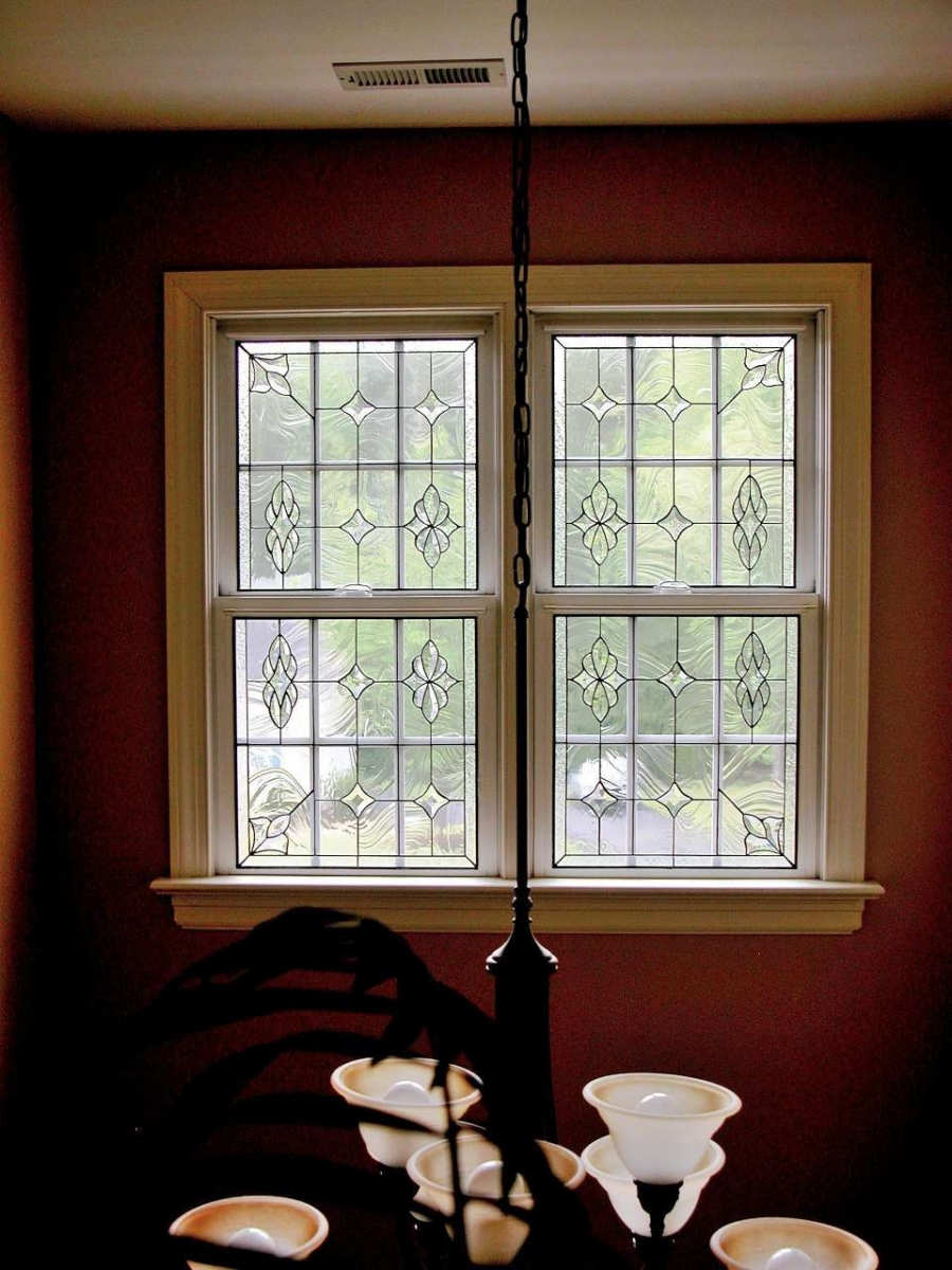 Leaded glass designs for windows - Traditional Murphy Double Hung