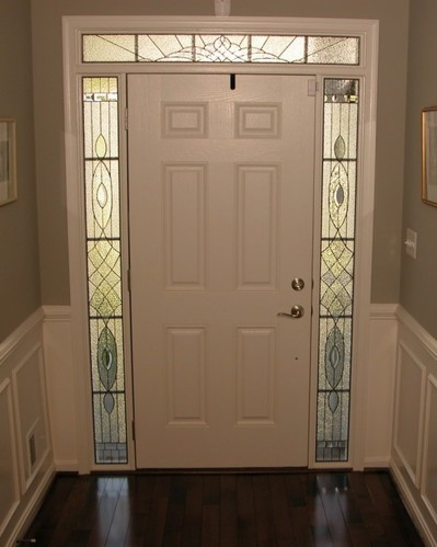 Katzenberger Sidelights Custom Leaded Glass