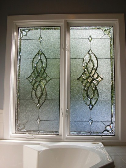 Bryant Twins Custom Leaded Glass Windows