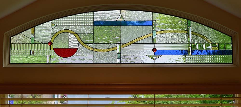 Custom Glass Transoms