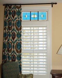 Traditional Odom Bedroom Color Transom