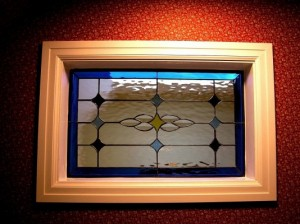 Varina Stained Glass Decorative Window