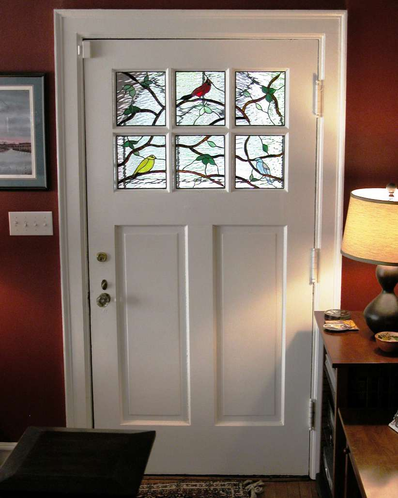 Decorative glass solutions custom stained glass custom leaded birds carroll chandler chafin planetlyrics Image collections