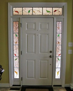 Contemporary Floral Leaves Lundmark entry