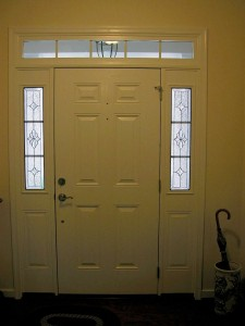 Traditional Creasy Half sidelights