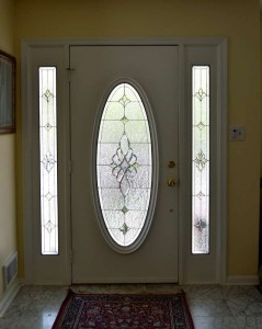 Traditional Grand Entryway Oval