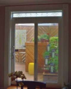 Traditional Bevel transom