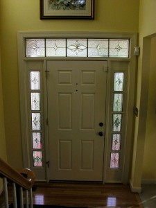Traditional Fox Transom and sidelights