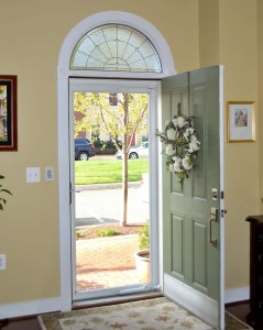 Traditional Half Round Entry transom