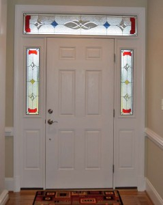 Traditional Sidelights Red