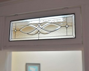 Traditional Venos Bedroom Transom Clear