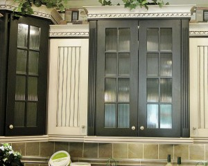 Reeded Cabinets