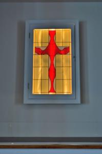 Liturical Cross Red