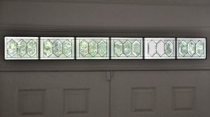 Traditional Ayers Entry Transom