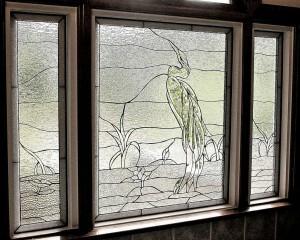 decorative glass windows victorian birds heron rhody decorative glass solutions custom stained leaded
