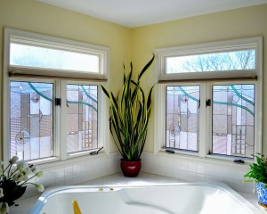 Contemporary Cotswald Peffers Bath casements